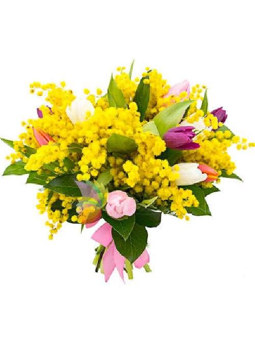 mazzo-fiori-mimosa